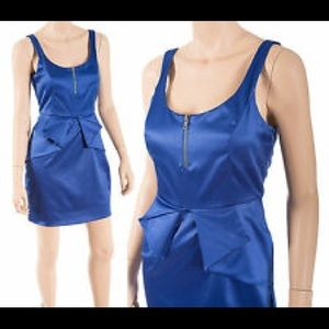 Bcbgeneration Sleeveless Peplum Cocktail Dress 6